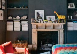 koyu renk ev dekorasyonu