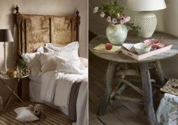 rustik romantik ev stili