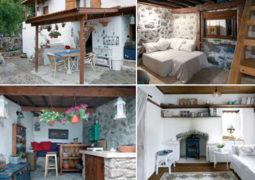 Küllerinden doğan köy evi