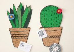 Dekoratif mantar pano yapımı: Kaktüs pano videolu tarif