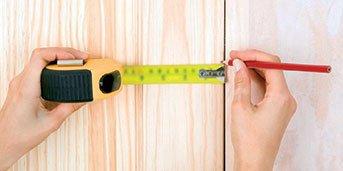 İç kapıları nasıl değiştirisiniz? Ölçün
