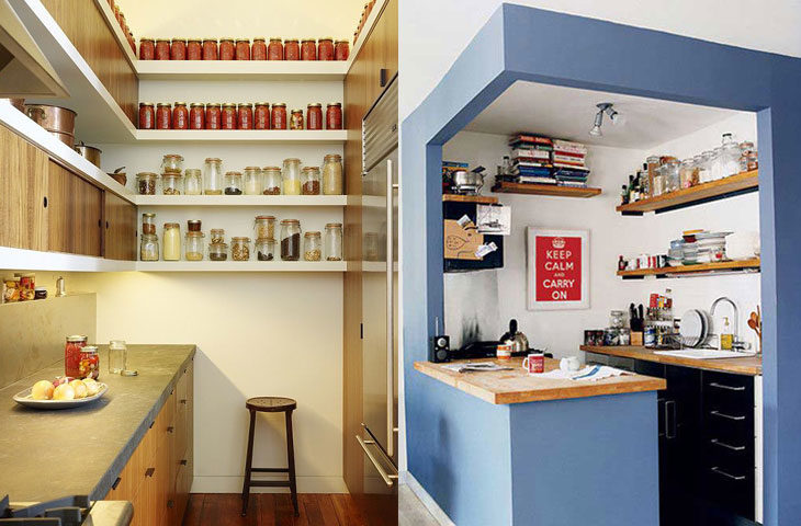 küçük mutfak düzeni örnekleri