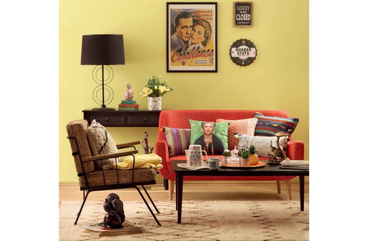 Ev için enerjik renkler