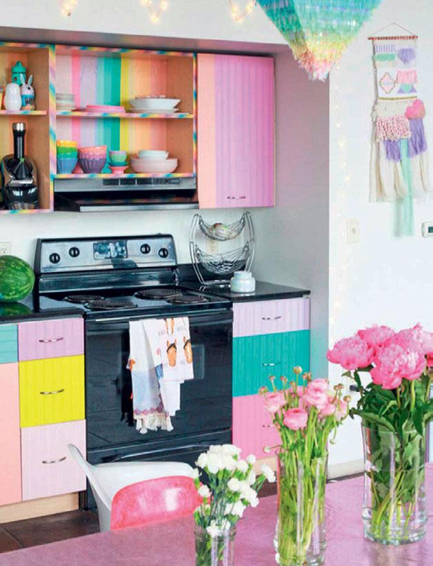 Renki mutfak modelleri