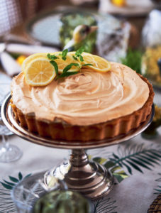 Limonlu ve merengli tart