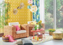 Sarı oda dekorasyonu
