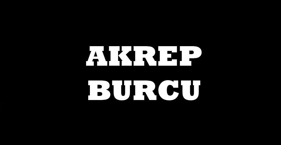 AKREP BURCU VE RENGİ