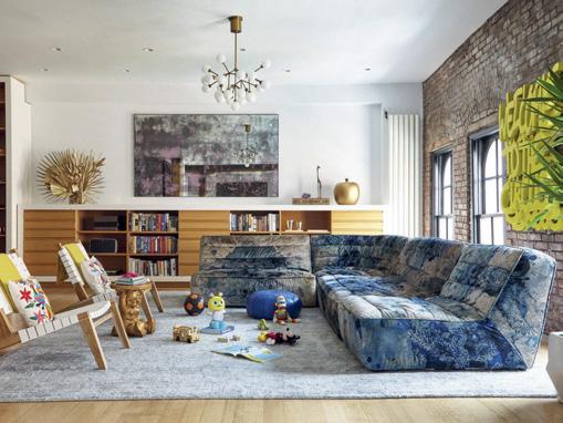 Alçak tavanlı evlerde mobilyalar