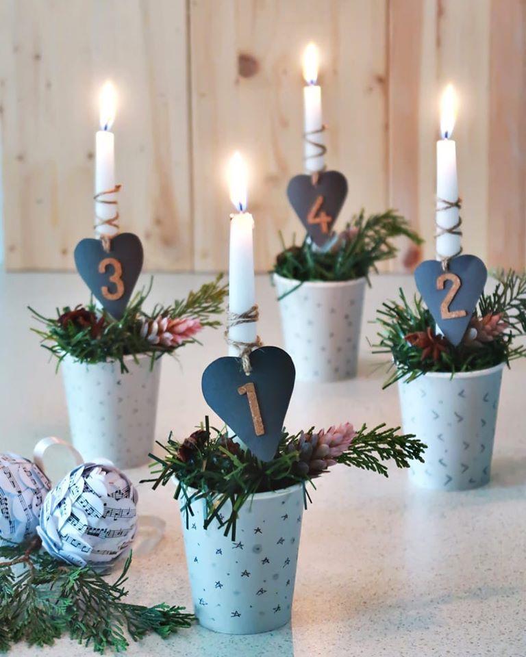dekoratif mumlar