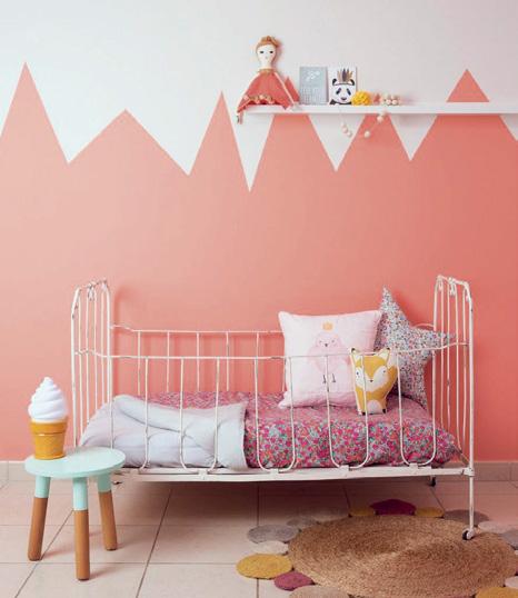 Çocuk odası boya dekorasyon