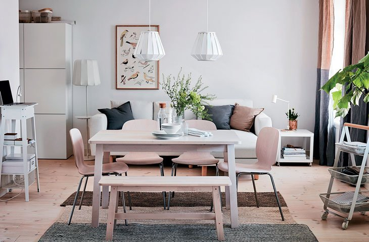 İskandinav stili ev dekorasyonu