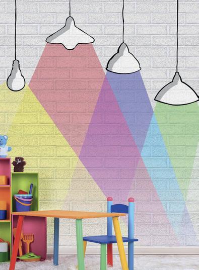 Duvar kağıdı boya dekorasyon