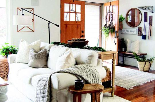 hygge stili ev dekorasyonu