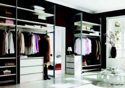 dolapta ya da giysi odasında depolama