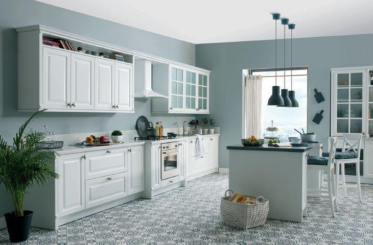 mutfakta düzen ve mutfak dolabı modelleri