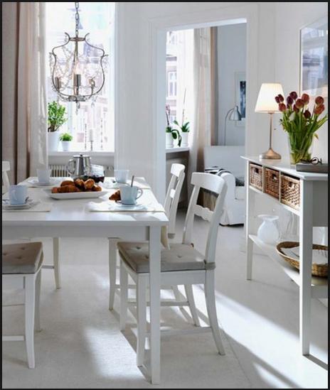 Yemek köşesi ve masa