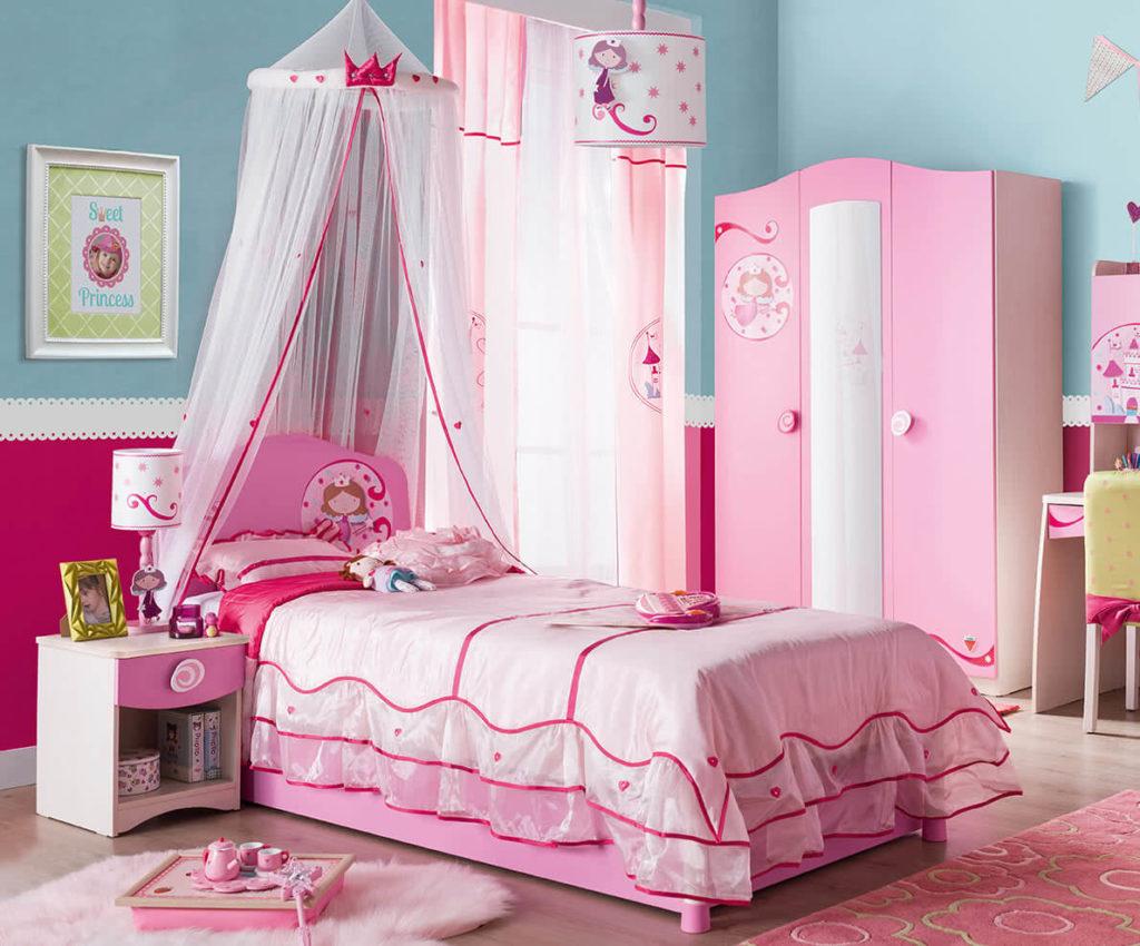 Çilek çocuk odası - Princess serisi
