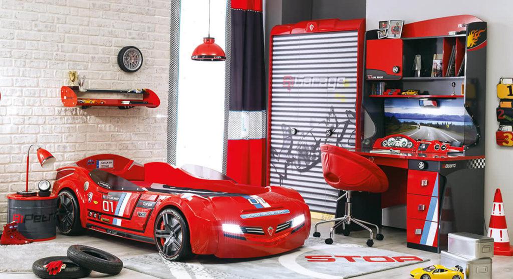 çilek çocuk odası champion racer serisi