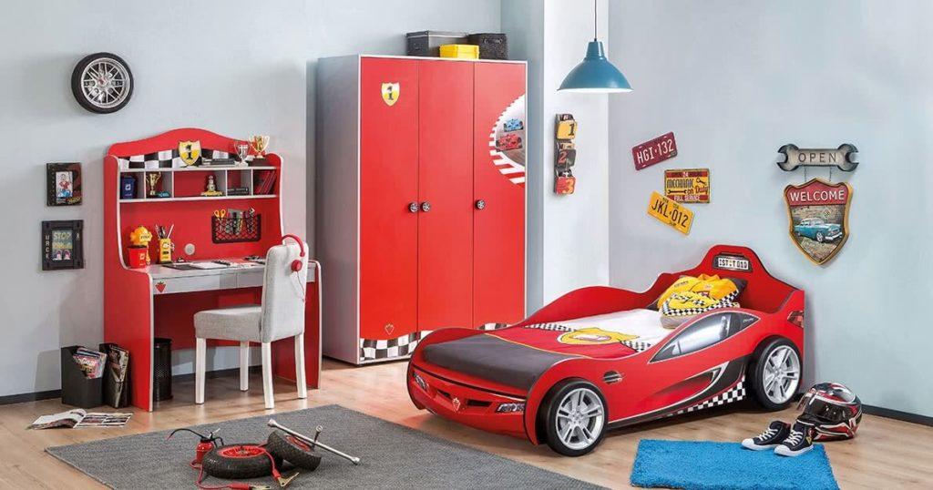 Çilek çocuk odası - Racecup serisi