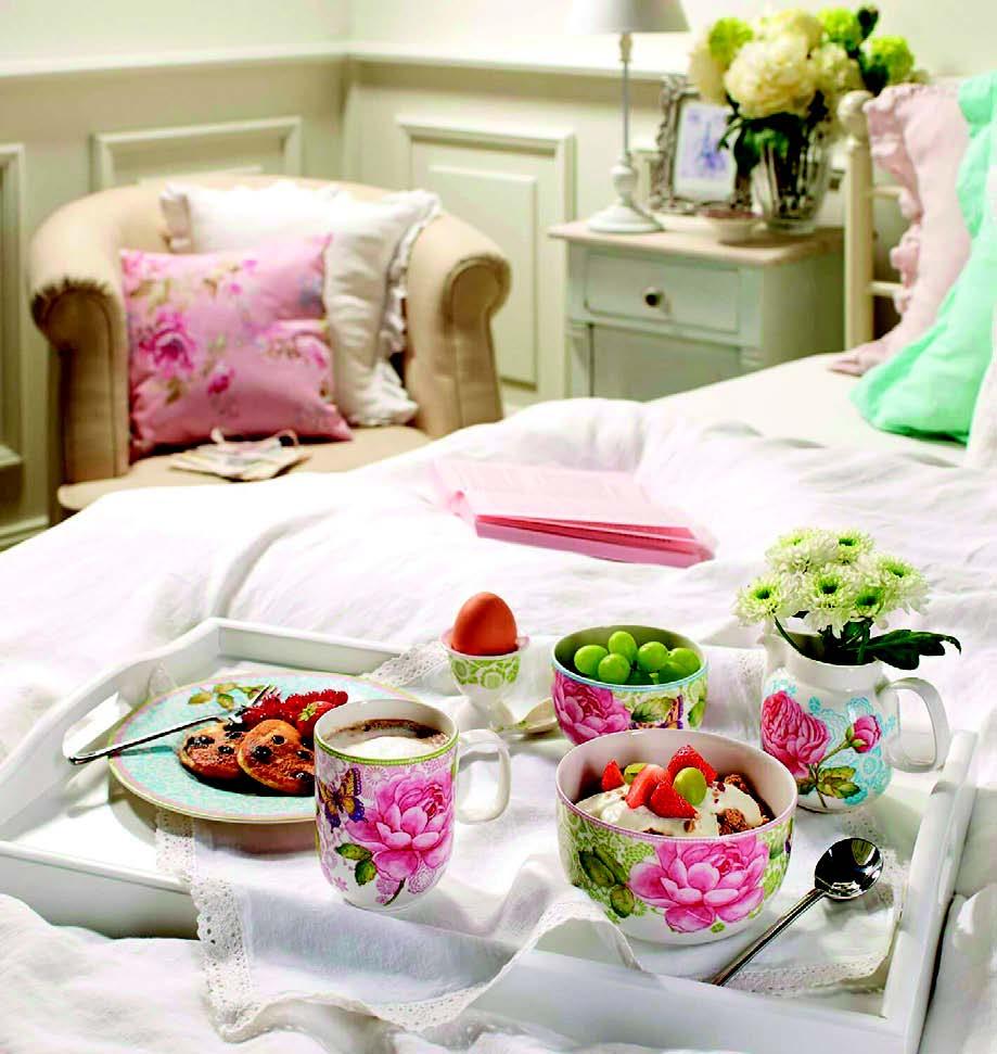 Romantik kahvaltı