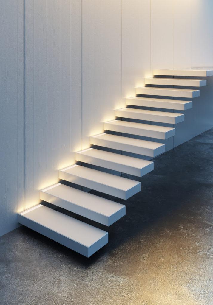 Beton merdiven