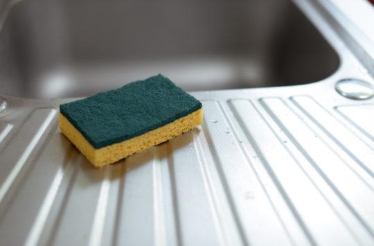 bulaşık-süngeri nasıl temizlenir?