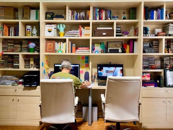 Çalışma odasında düzen