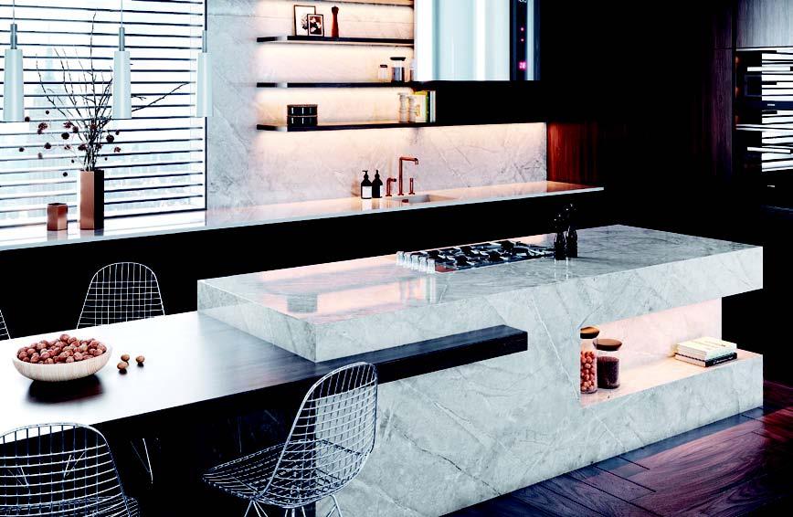 Terazi burcu mutfak dekorasyonu örneği