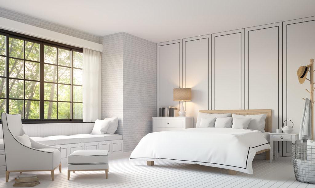 Yatak odası modern duvar kağıdı