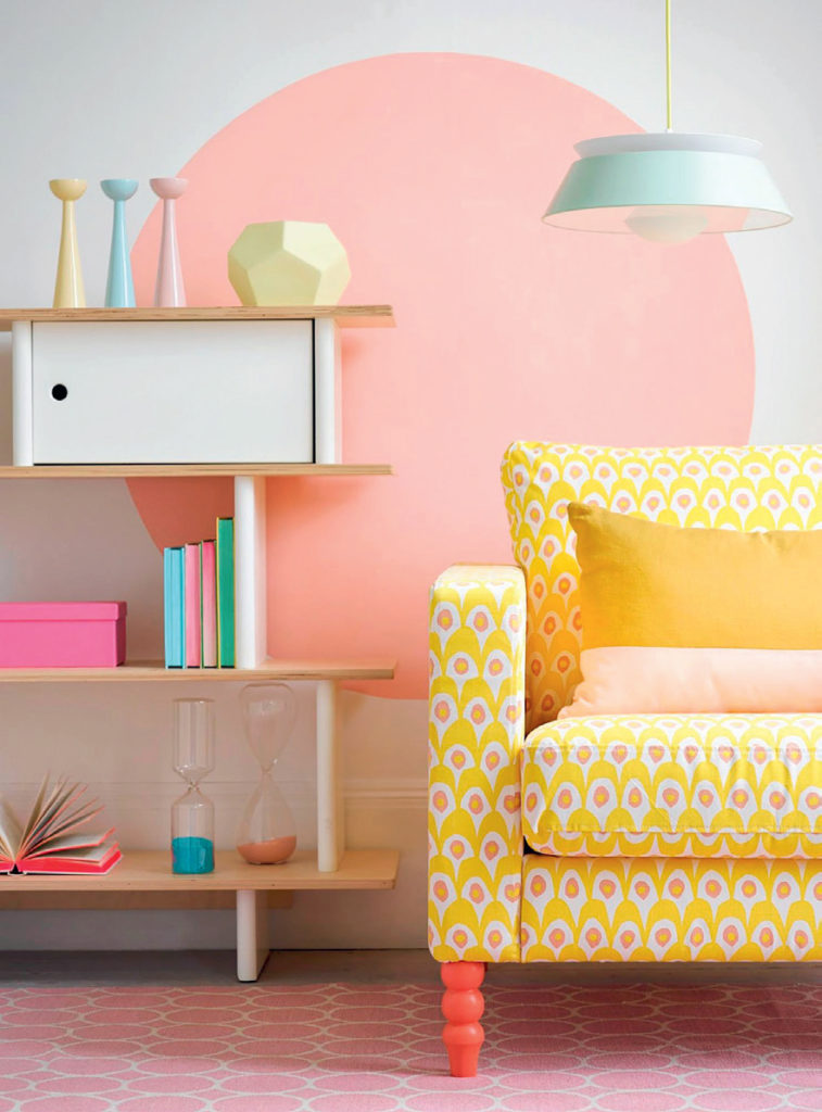 Pastel renklerle dekorasyon