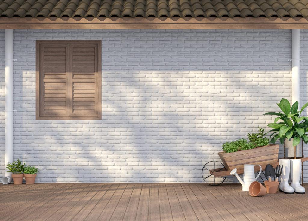Döşeme panelleri bahçe