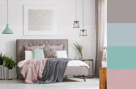 genç kız odası duvar boyası