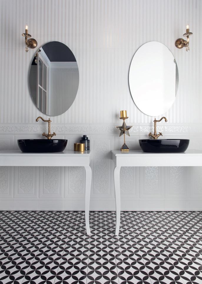 Banyoda seramiğin kullanımı