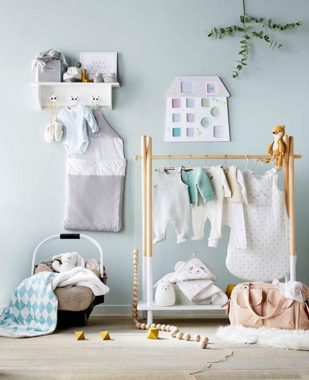 Çocuk odası giysi askısı