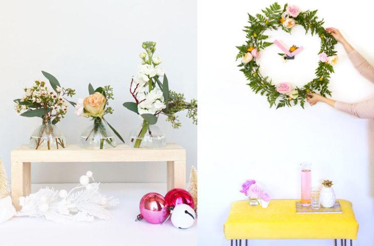 eviniz için el yapımı bahar-dekorasyonu