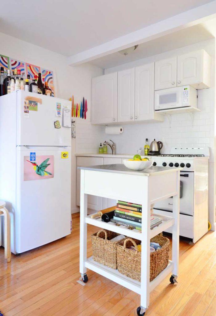 dar mutfak dekorasyonu
