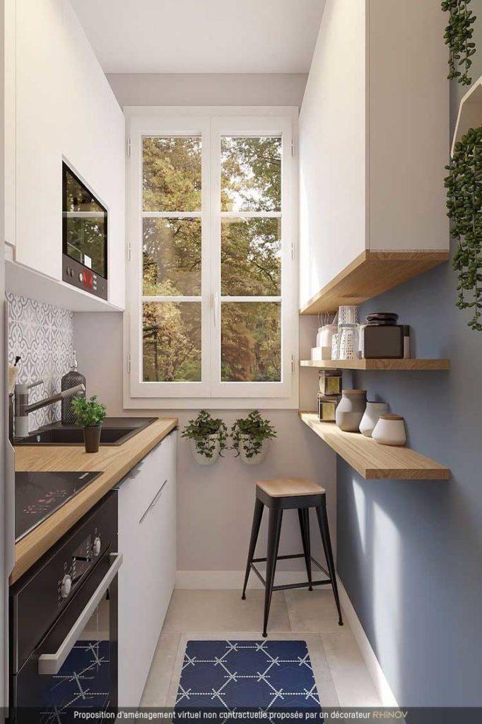 kucuk mutfak dekorasyon ornekleri