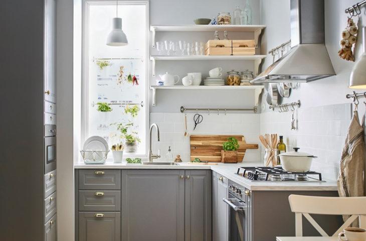 küçük mutfaklar için işlevsel öneriler