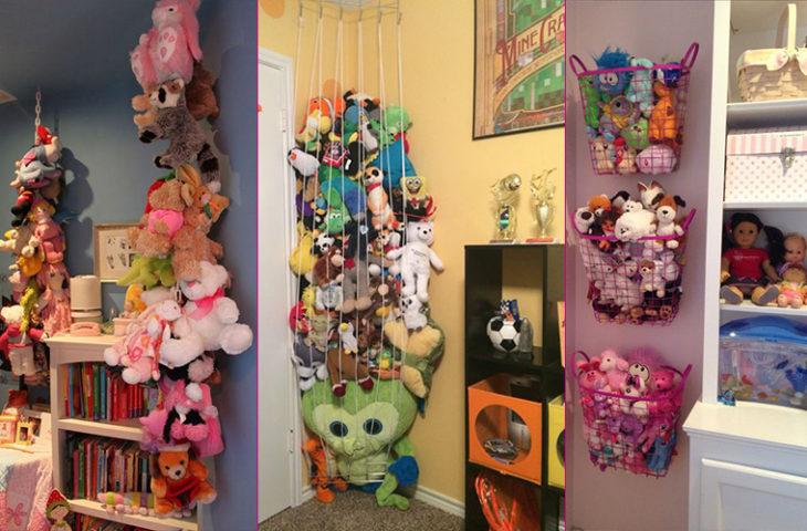 oyuncak depolama fikirleri