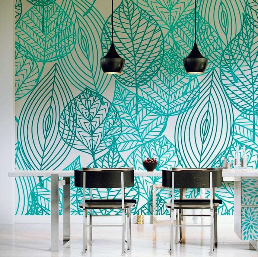 tropikal ev dekorasyonu örnekleri