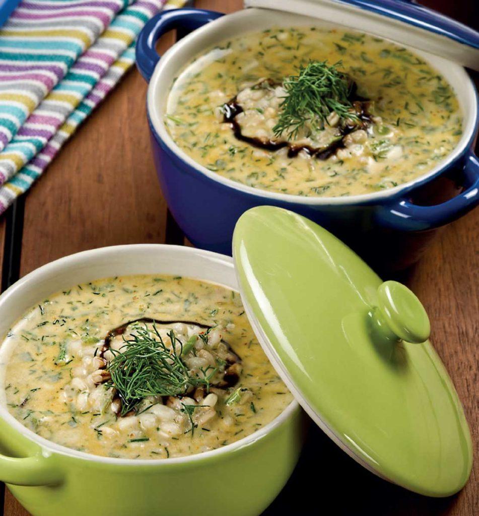 Soğuk Buğday Çorbası - 4 kişilik tarif