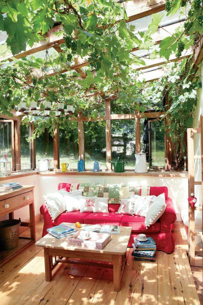 kil ve samandan yapılmış ev