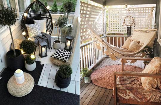 balkon yada veranda için tatil ortamı