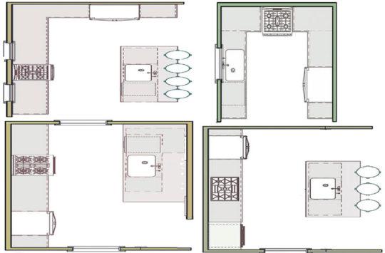 mutfak-yerleşimi planı