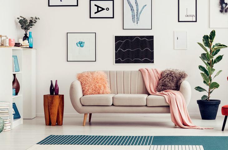 Evde pastel renklerle dekorasyon