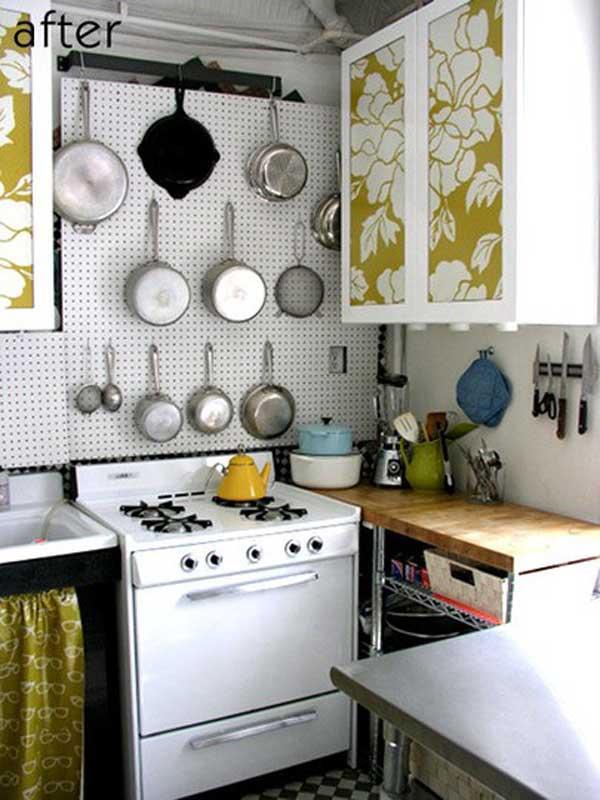 Küçük mutfak dekorasyonu örnekleri ve fikirleri