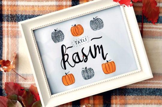 TATLI-KASIM-kaligrafi çalışması