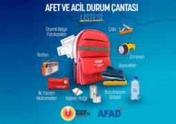afad-deprem-çantası