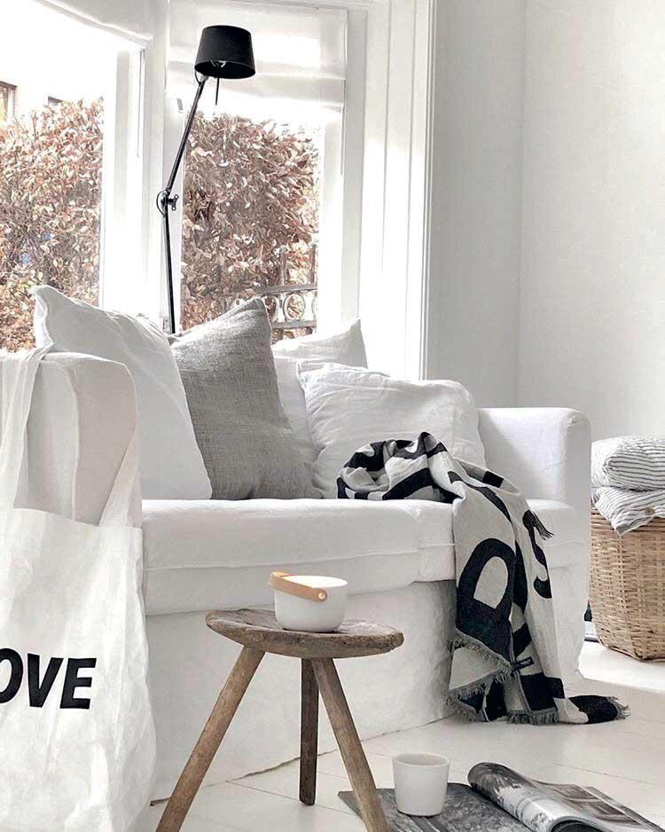 Oturma odası beyaz